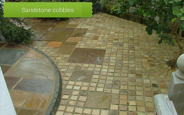 Sandstone cobbles Poole