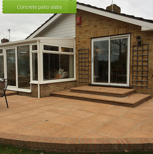 Concrete Patio Slabs Poole