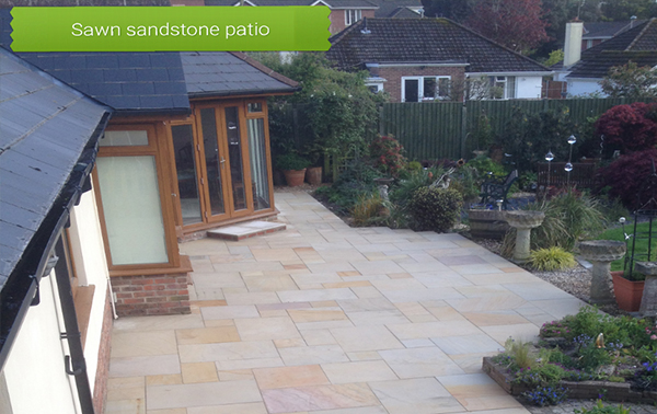 Sawn Sandstone Patio Bournemouth