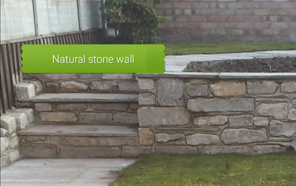Natural Stone Wall Poole